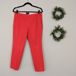 J.Crew | Martie Red Ankle Pant 10